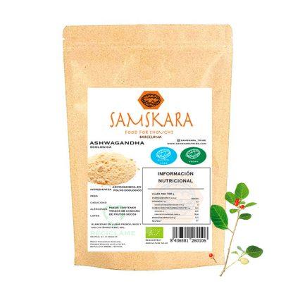 Ashwagandha Powder - Organic BIO | Samskara Tribe