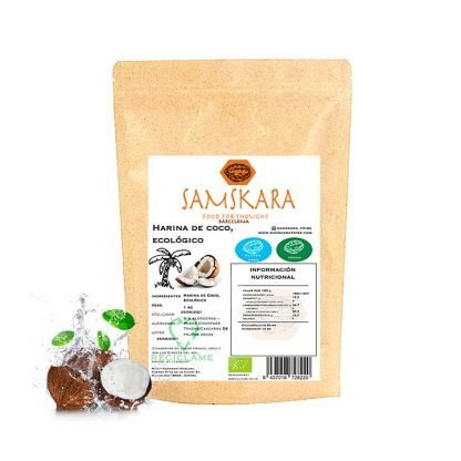 Gluten Free Flours   Coconut Flour - Organic BIO - Samskara Tribe