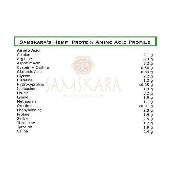 Hemp Protein Powder 50 Raw Coldpressed EU Origin Organic BIO Samskara Tribe 3 1