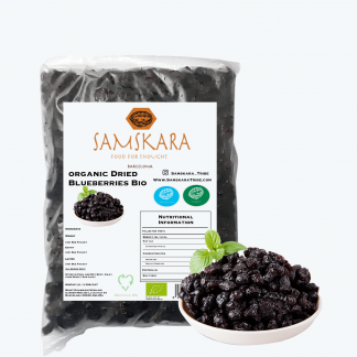Dried Blueberries with apple juice | Organic BIO | 1 kg