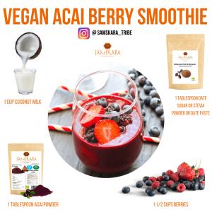 Plant-Based Recipes, Acai Powder